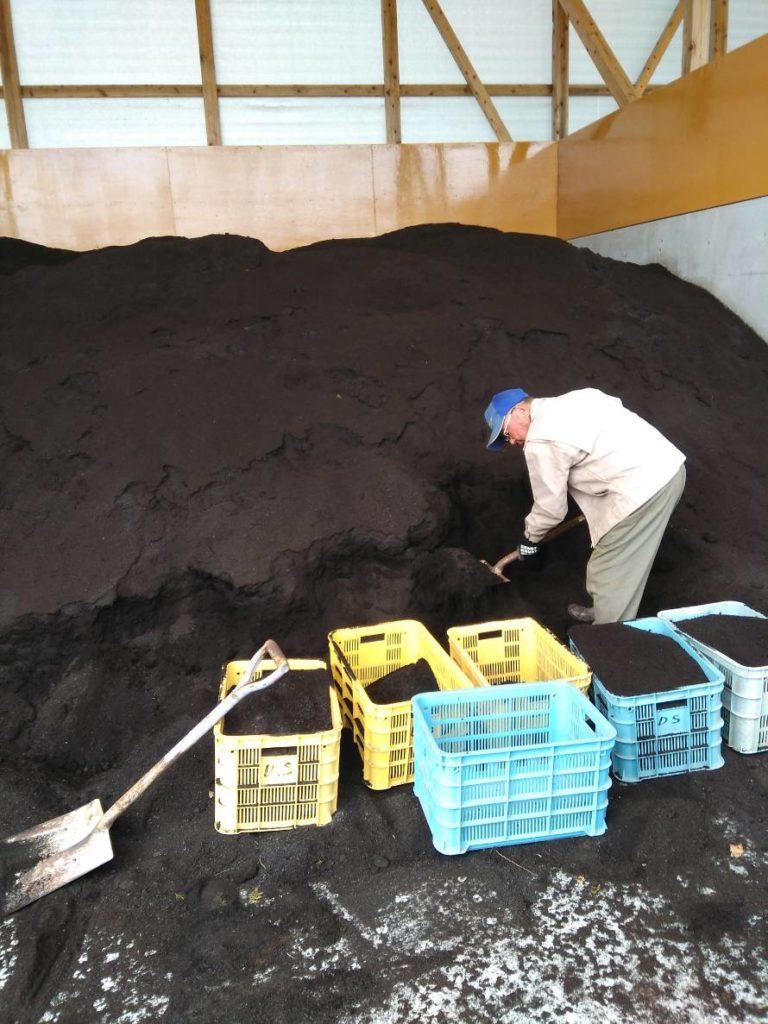 畜産産業堆肥工場